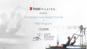 COMPREHENSIVE GLOBAL FORMAT Marzo 2018 Roma @ Loft Studio Cerere | Roma | Lazio | Italia