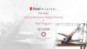 COMPREHENSIVE GLOBAL FORMAT Marzo 2018 Milano @ Benefit Studio | Milano | Lombardia | Italia