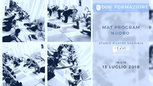 MAT PROGRAM Luglio 2018 Nuoro @ Studio Pilates Sardinia | Nuoro | Sardegna | Italia