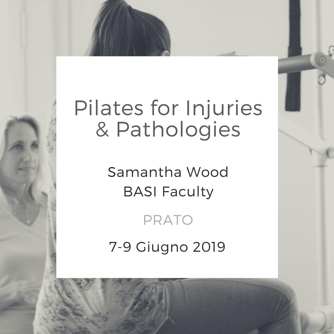 Workshop Pilates for injuries & pathologies giugno 2019 prato