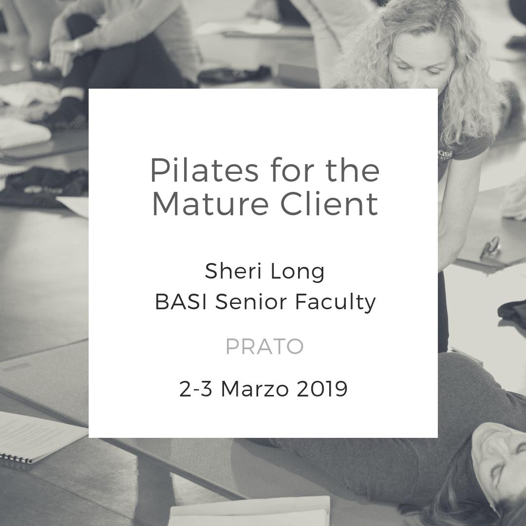 Pilates for the Mature Client Prato marzo 2019
