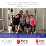 Corso formazione insegnanti BASI Pilates attrezzi e matwork Abano Terme Ilaria Pulidori Fabio Caracci