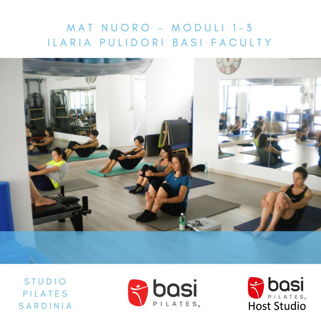 Mat program formazione insegnanti BASI Pilates Sardegna