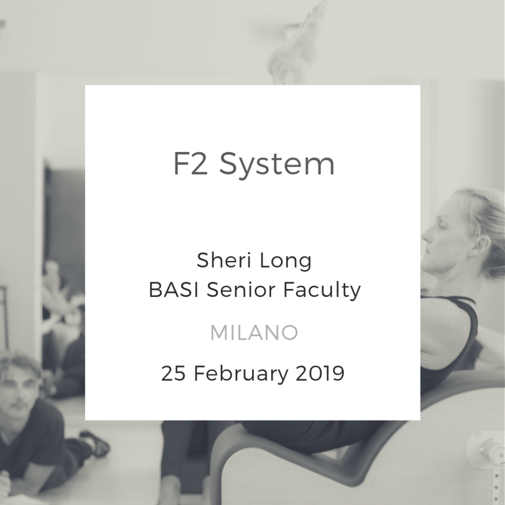F2 System Workshop Milano BASI Pilates Sheri Long