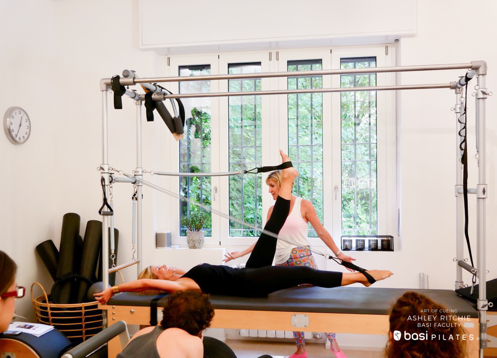 Art of Cueing- Ashley Ritchie - Workshop BASI Pilates Italia