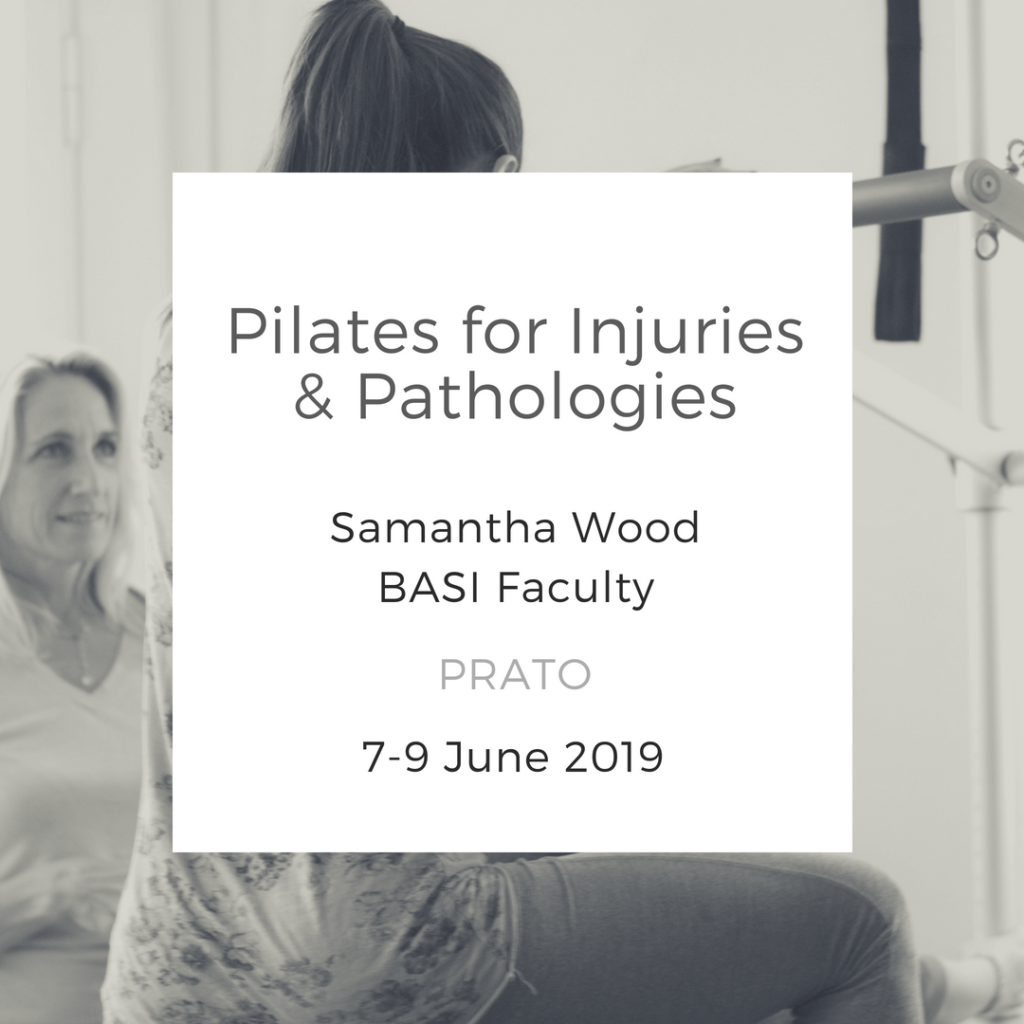 Pilates for Injuries & Pathologies Prato Italy june 2019
