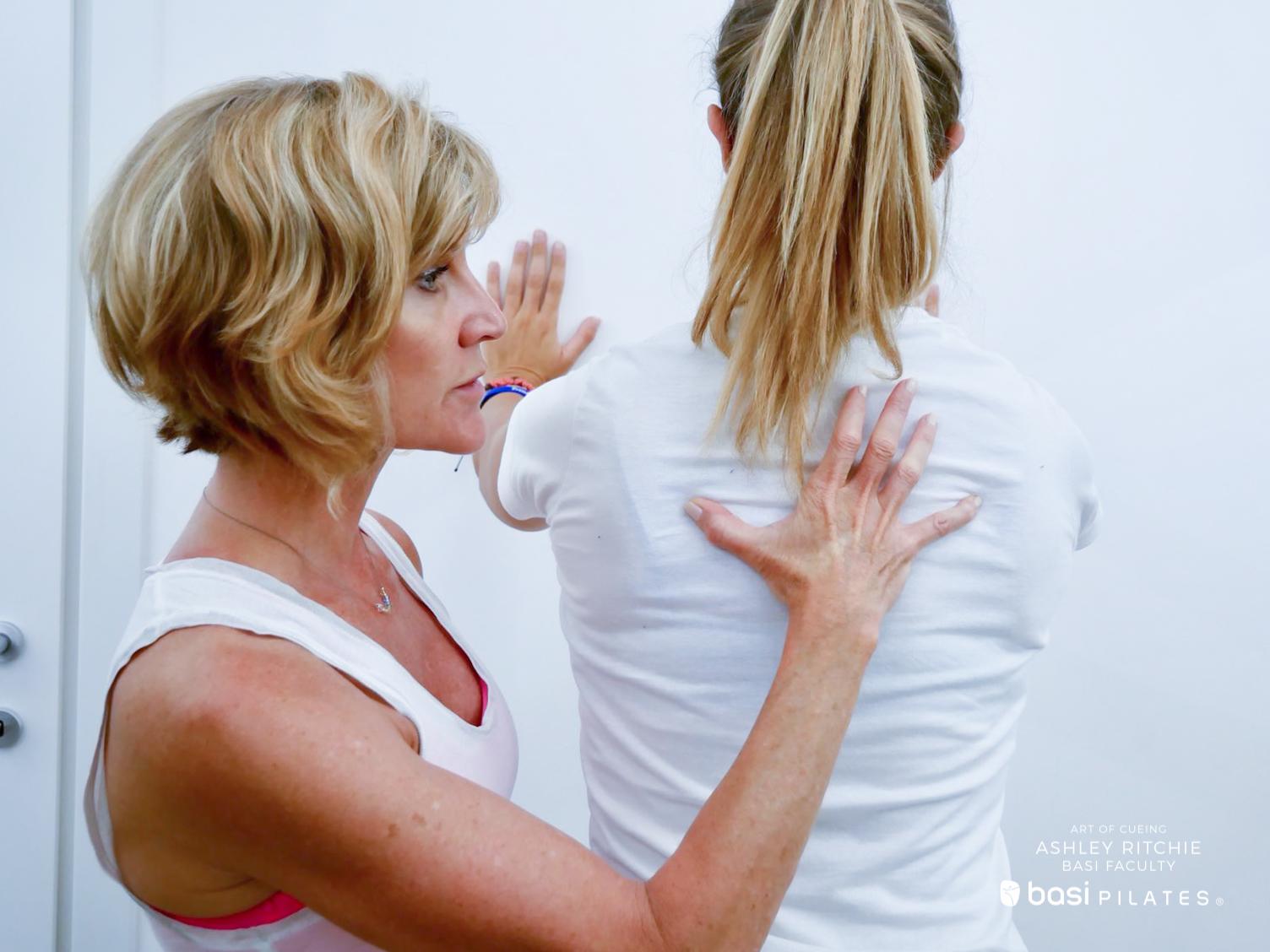 Art of Cueing- Ashley Ritchie - Workshop BASI Pilates Italia