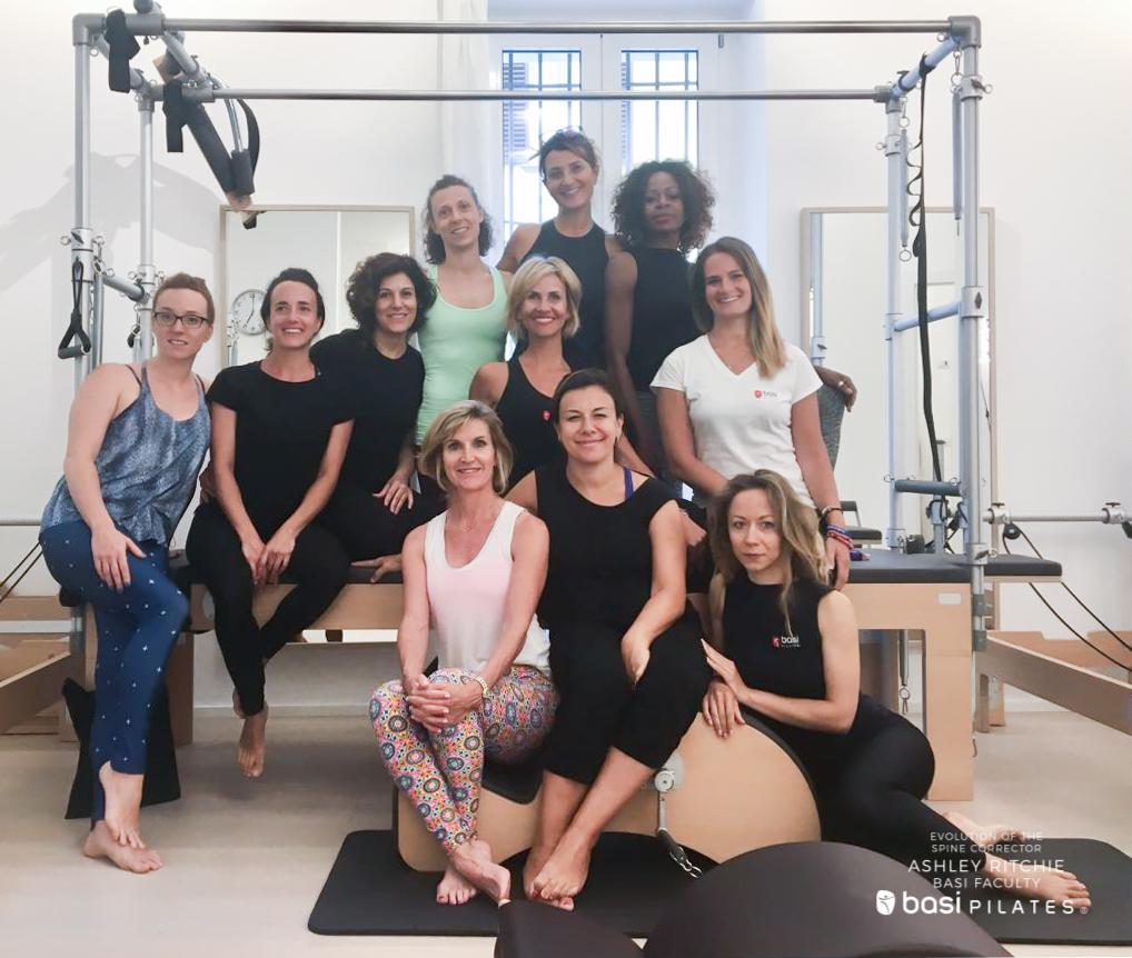 Evolution of the Spine Corrector - Ashley Ritchie - Workshop BASI Pilates Italia