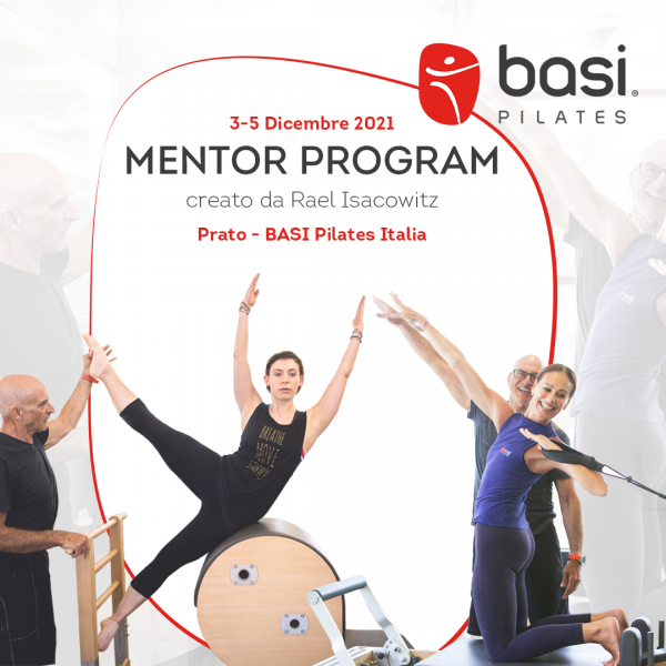 Mentor Program dicembre 2021 BASI Pilates Prato